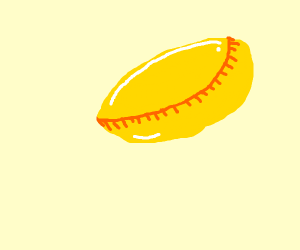 A round gold thing (it's an online game logo)
