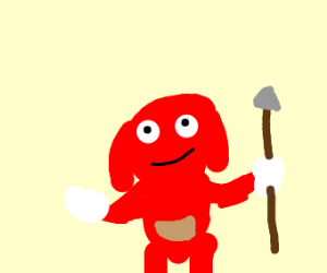 THIS UGANDAN KNUCKLES IS DEAD, DEAL WITH IT