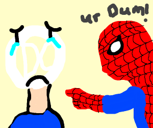 spiderman dislikes DC