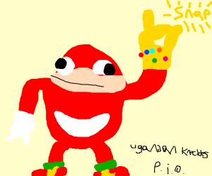 Ugandan knuckles pio