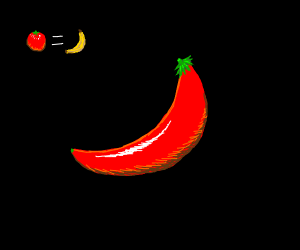 Tomato = banana