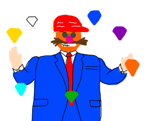 TRUMP HAS FOUND THE CHAOS EMERALDS!