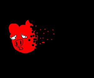Pig doesn't feel so good