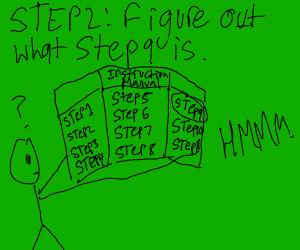 step 1: repeat step 9