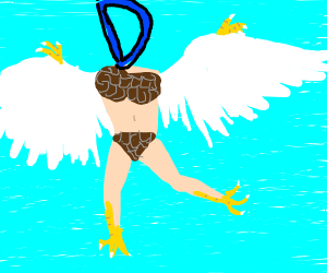 Drawception but as a harpy