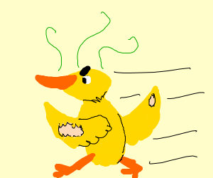 Ugly Duckling Jogging