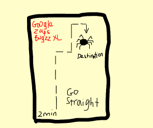 GPS that locates large bugs