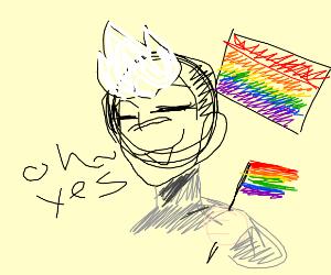 Shiro is gay