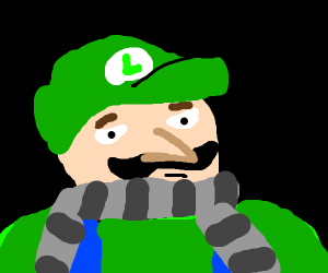 Luigi combined with gru