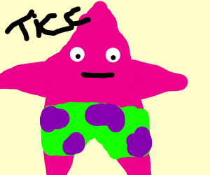 VERY thicc Patrick Star.
