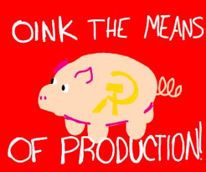 communist pig
