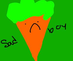 Sad Carrot :'(