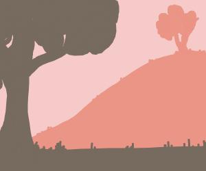 A calm landscape