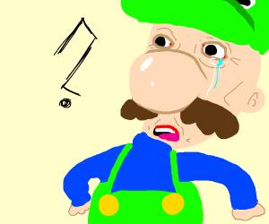 confused Luigi