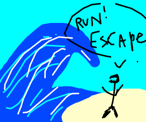 escaping the flood