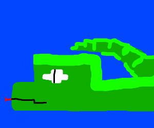 snake in minecraft