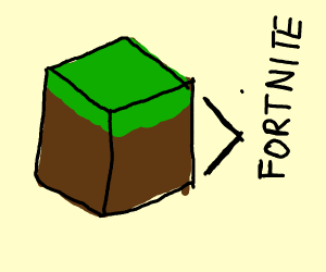 Minecraft is better than Fortnite
