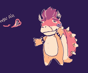 Bowser's First Kiss