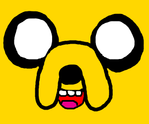 jake the dog's face