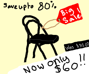 a sale on udon stool