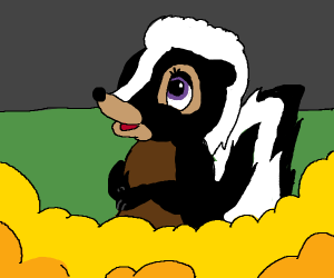 Flower the Skunk