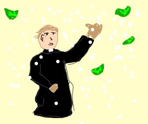 Priest in a Blizzard