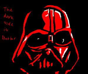 Racist Darth Vader
