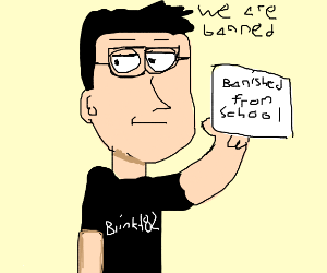 blink-182 banned at school