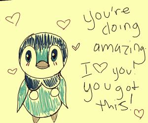 Piplup loves you :D (Pokemon)
