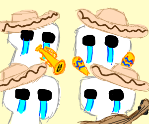 children souls from fnaf became mariachis