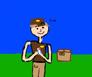 smug mailman