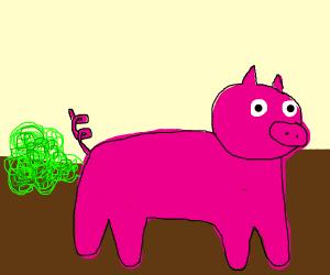 fat pig fart