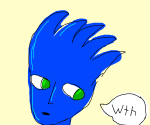 Anime sonic say wth