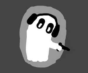 Napstablook has a gun