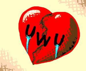 Broken heart oWo