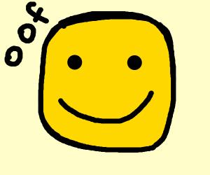 Roblox head says oof