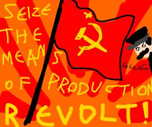 A Communist revolution