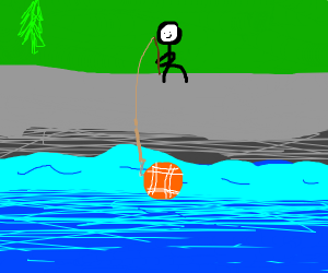 Fishing for a Baseball