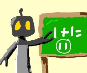 Robot is not so good at math