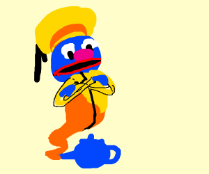 Grover as Genie