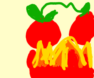 Tomato in a Fire