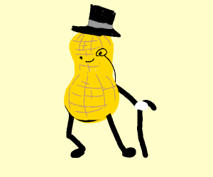That peanut logo with the tophat and tie