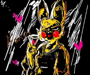 pikachu is a very fancy lady