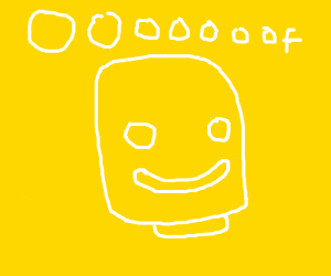roblox head saying oof