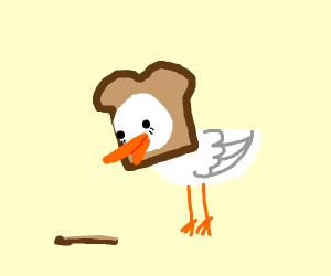 Bread Duck Bread Duck
