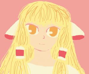 Chi (Chobits) smiles ominously at you