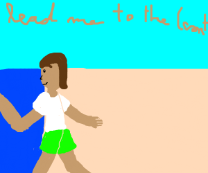 Ocean man take me by hand (cont song)