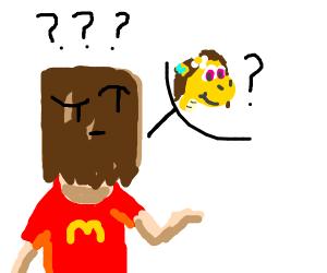 Default McBaghead asks who Vellidragon is