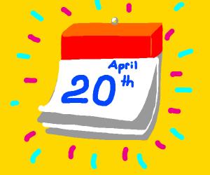 It's 4/20!
