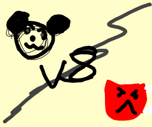 Mickey Mouse vs. Koolaid